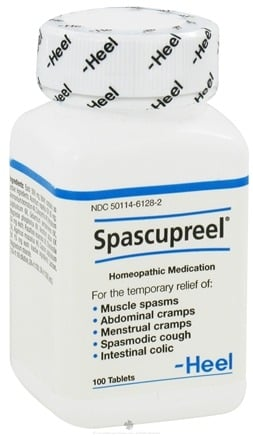 DROPPED: Heel Professional - Spascupreel - 100 Tablets