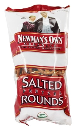 DROPPED: Newman's Own Organics - Organic Pretzel Salted Rounds - 8 oz.