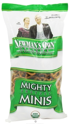 DROPPED: Newman's Own Organics - Organic Pretzel Mighty Minis - 7 oz. CLEARANCE PRICED