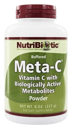 DROPPED: Nutribiotic - Meta-C Buffered Powder Vitamin C with Biologically Active Metabolites - 8 oz.