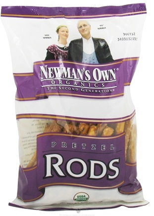 DROPPED: Newman's Own Organics - Organic Pretzel Rods - 8 oz.