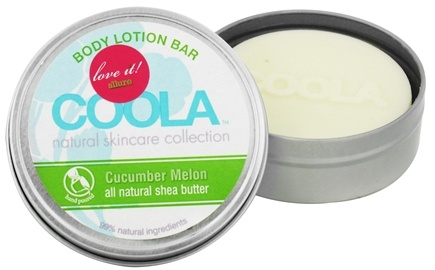 DROPPED: Coola Suncare - Body Lotion Bar Cucumber Melon - 2.75 oz. CLEARANCE PRICED