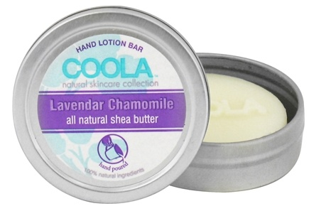 DROPPED: Coola Suncare - Hand Lotion Bar Lavendar Chamomile - 0.5 oz. CLEARANCE PRICED