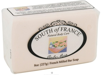 DROPPED: South of France - French Milled Vegetable Bar Soap Amber Rose - 8 oz.