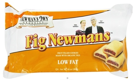 DROPPED: Newman's Own Organics - Fig Newmans Low Fat - 10 oz. DAILY DEAL