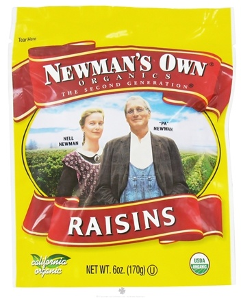 DROPPED: Newman's Own Organics - Organic Raisins - 6 oz.
