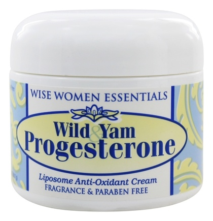 Wise Essentials - Wild Yam Progesterone Cream Fragrance Free - 2 oz.