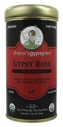 Zhena's Gypsy Tea - Black Tea Gypsy Rose - 22 Tea Bags