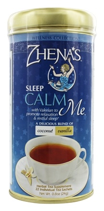 Zhena's Gypsy Tea - Wellness Collection Tea Calm Me Coconut and Vanilla - 22 Tea Bags