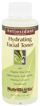 DROPPED: Nutribiotic - Antioxidant Hydrating Facial Toner - 4.2 oz. CLEARANCE PRICED
