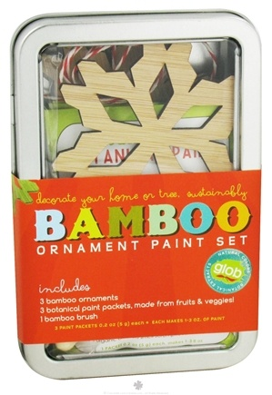Zoom View - Bamboo Ornament Paint Set