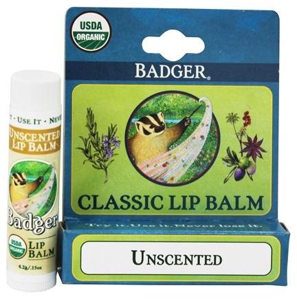 DROPPED: Badger - Classic Lip Balm Box Unscented - 1.5 oz.