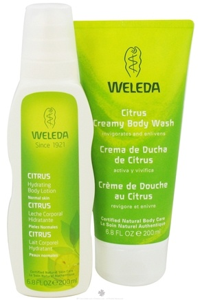 DROPPED: Weleda - Creamy Body Wash and Hydrating Body Lotion Holiday Kit Citrus - 2 x 6.8 oz