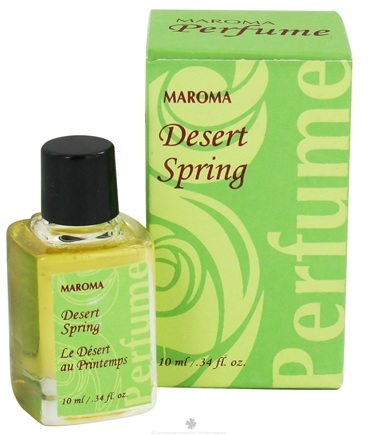 DROPPED: Maroma - Perfume Oil Desert Spring - 10 ml. CLEARANCE PRICED