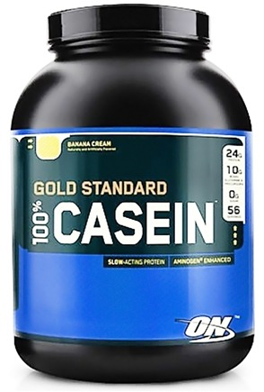 DROPPED: Optimum Nutrition - 100% Casein Gold Standard Banana Cream - 2 lbs. CLEARANCE PRICED