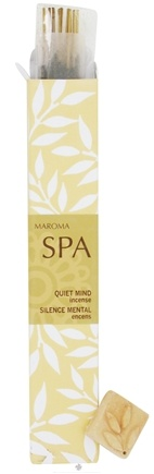 DROPPED: Maroma - Spa Incense Quiet Mind - 10 Stick(s) CLEARANCE PRICED