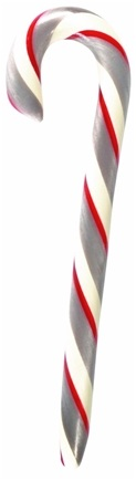Zoom View - All Natural Candy Cane