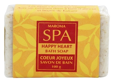 DROPPED: Maroma - Spa Soap Happy Heart - 100 Grams CLEARANCE PRICED