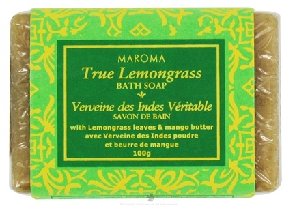 DROPPED: Maroma - Bath Soap Lemongrass - 100 Grams CLEARANCE PRICED