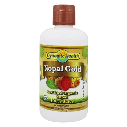 Dynamic Health - Nopal Gold Organic Certified 100% Pure - 32 oz.