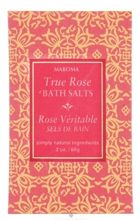 DROPPED: Maroma - Bath Salts True Rose - 2 oz. CLEARANCE PRICED