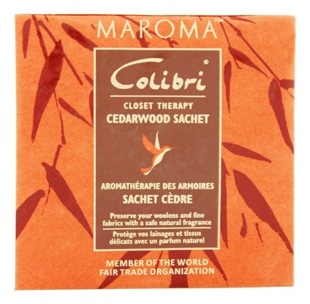 Zoom View - Colibri Closet Therapy Sachet