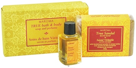 DROPPED: Maroma - Bath and Body Soap and Perfume Gift Set True Sandal - CLEARANCE PRICED