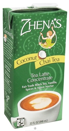 DROPPED: Zhena's Gypsy Tea - Chai Tea Latte Coconut Concentrate - 32 oz. CLEARANCE PRICED