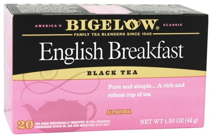 Bigelow Tea - Black Tea English Breakfast - 20 Tea Bags