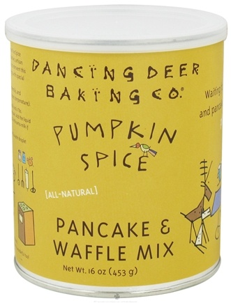 DROPPED: Dancing Deer Baking Co. - All-Natural Pancake & Waffle Mix Pumpkin Spice - 16 oz.
