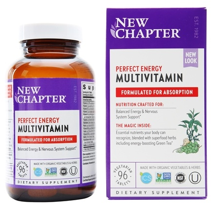 Zoom View - Perfect Energy Whole-Food Multivitamin