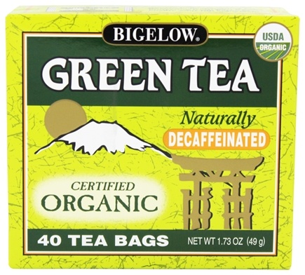 Zoom View - Green Tea Certified Organic Decaffeinated