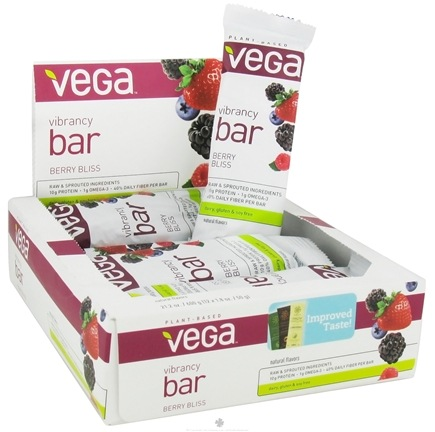DROPPED: Vega - Plant Based Vibrancy Bar Berry Bliss - 1.8 oz.