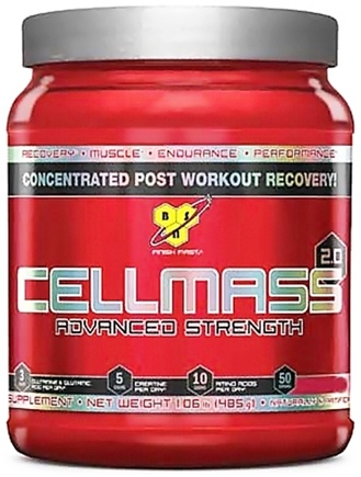 DROPPED: BSN - Cellmass 2.0 Advanced Strength Watermelon - 30 Servings - 10.2 oz. CLEARANCE PRICED