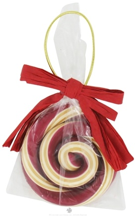 Zoom View - Swirl Lollipop Ornament