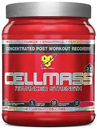 DROPPED: BSN - Cellmass 2.0 Advanced Strength Arctic Berry - 30 Servings - 10.2 oz.