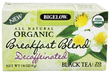 Zoom View - All Natural Organic Black Tea Decaffeinated