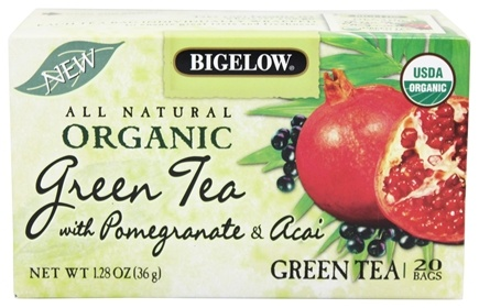 Zoom View - All Natural Organic Green Tea