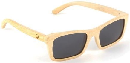 Zoom View - Robinson Handcrafted Bamboo Sunglasses