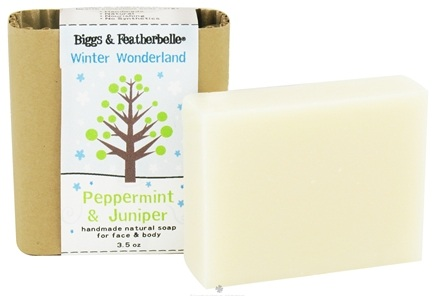 Zoom View - Handmade Natural Soap Winter Wonderland