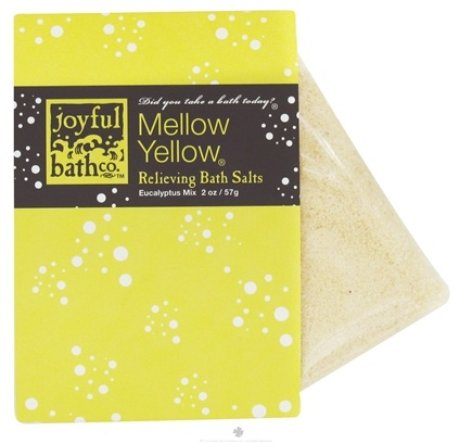DROPPED: Joyful Bath Co - Bath Salts Relieving Mellow Yellow - 2 oz. CLEARANCE PRICED