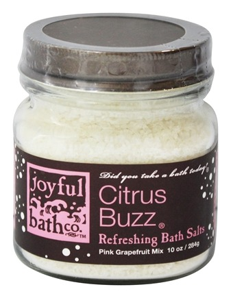 DROPPED: Joyful Bath Co - Bath Salts Refreshing Citrus Buzz - 10 oz. CLEARANCE PRICED