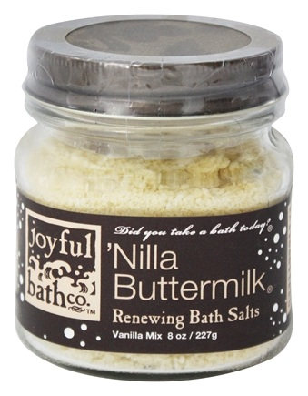 DROPPED: Joyful Bath Co - Bath Salts Renewing Nilla Buttermilk - 8 oz. CLEARANCE PRICED