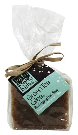 Joyful Bath Co - Bath Soap Recharging Green Tea Glee - 5.3 oz. CLEARANCE PRICED