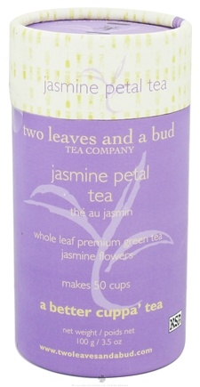 DROPPED: Two Leaves Tea Company - Green Tea Jasmine Petal Tea - 3.5 oz. Formerly Two Leaves and a Bud