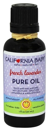 California Baby - Pure Oil Aromatherapy French Lavender - 1 oz.