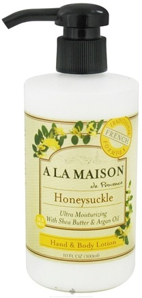 DROPPED: A La Maison - Traditional French Formula Hand & Body Lotion Honeysuckle - 10 oz.