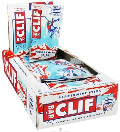 DROPPED: Clif Bar - Energy Bar Peppermint Stick - 2.4 oz.