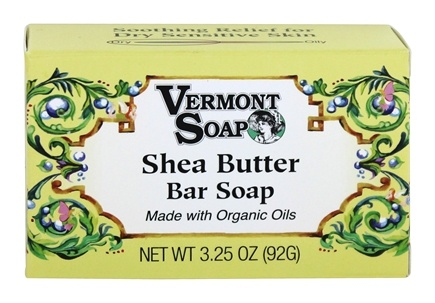Vermont Soapworks - Bar Soap Shea Butter - 3.25 oz.