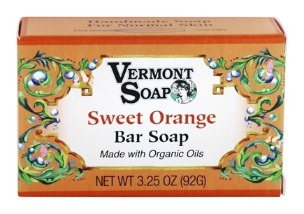 DROPPED: Vermont Soapworks - Bar Soap Sweet Orange - 3.25 oz.